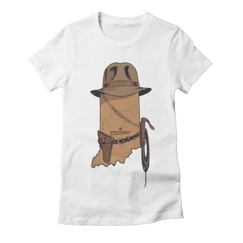 Indy Women's Fitted T-Shirt by Made With Awesome