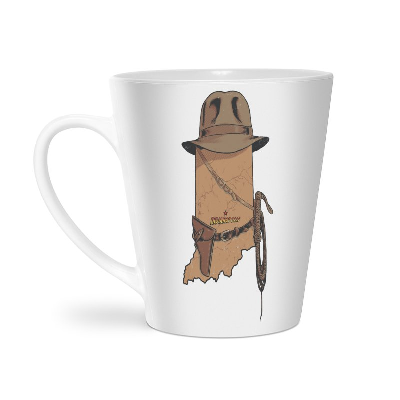Indy Accessories Latte Mug by Made With Awesome