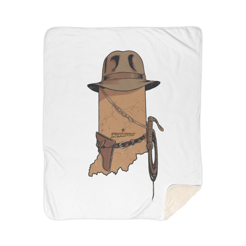 Indy Home Sherpa Blanket Blanket by Made With Awesome
