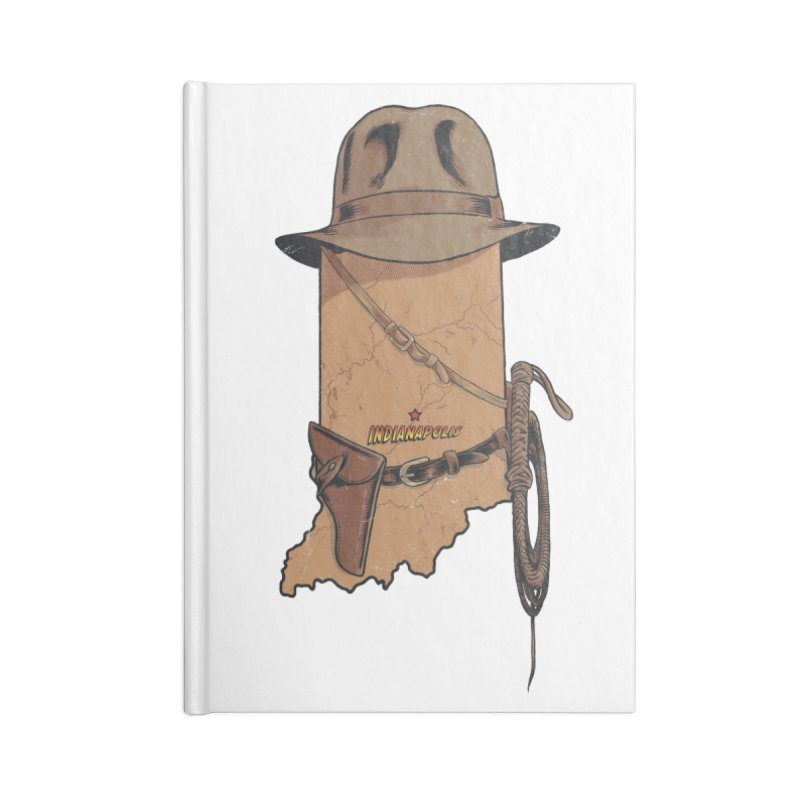 Indy Accessories Blank Journal Notebook by Made With Awesome