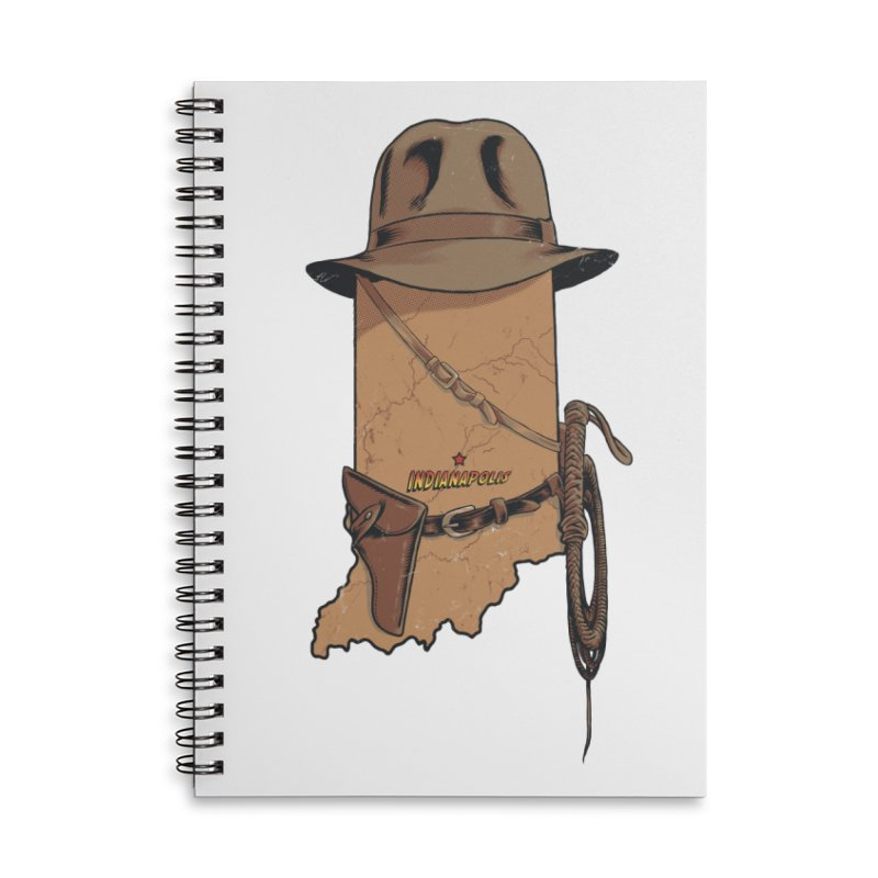 Indy Accessories Lined Spiral Notebook by Made With Awesome