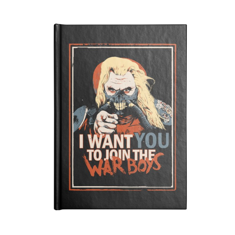 Yo Joe! Accessories Blank Journal Notebook by Made With Awesome