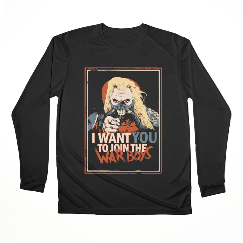 Yo Joe! Women's Performance Unisex Longsleeve T-Shirt by Made With Awesome