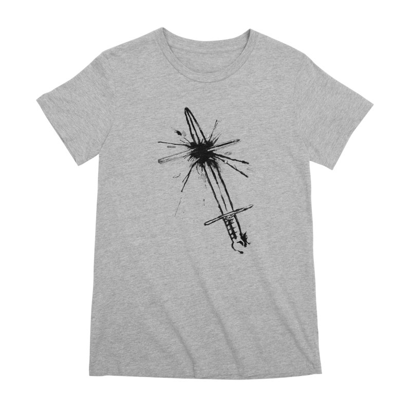 Which Is Mightier? Women's Premium T-Shirt by Made With Awesome