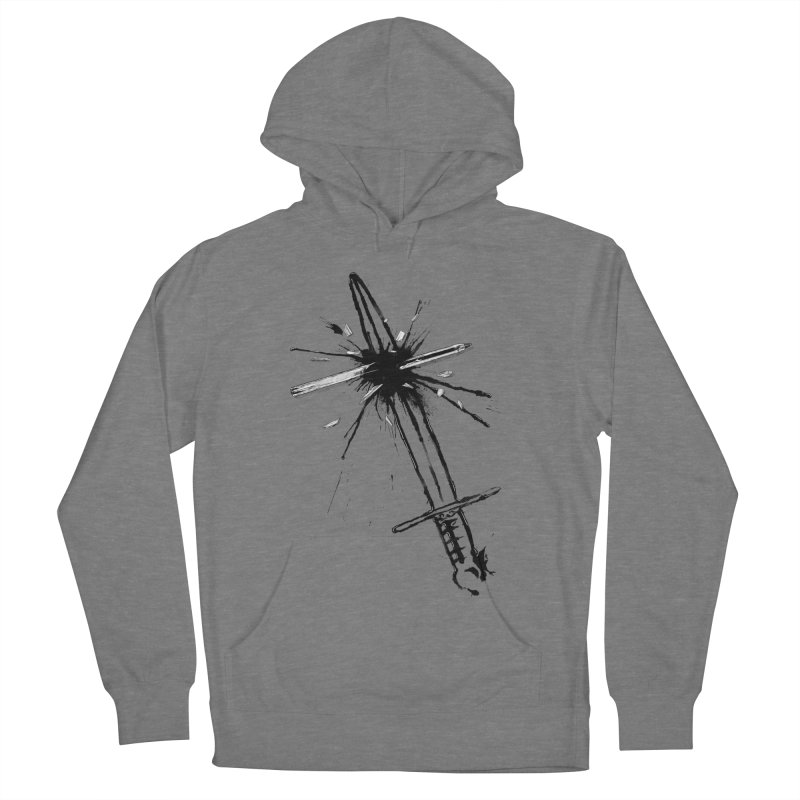 Which Is Mightier? Men's French Terry Pullover Hoody by Made With Awesome