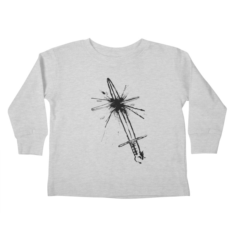 Which Is Mightier? Kids Toddler Longsleeve T-Shirt by Made With Awesome