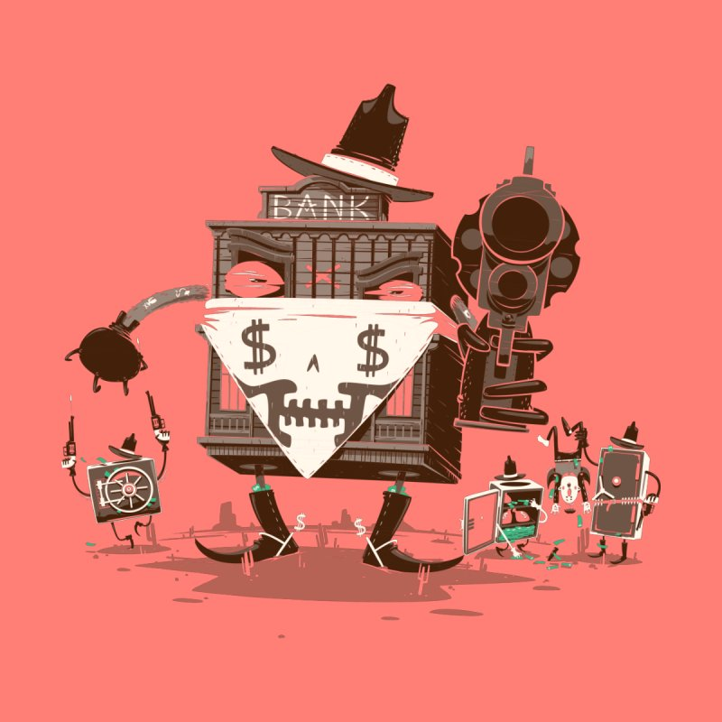 Bank Robber by Made With Awesome