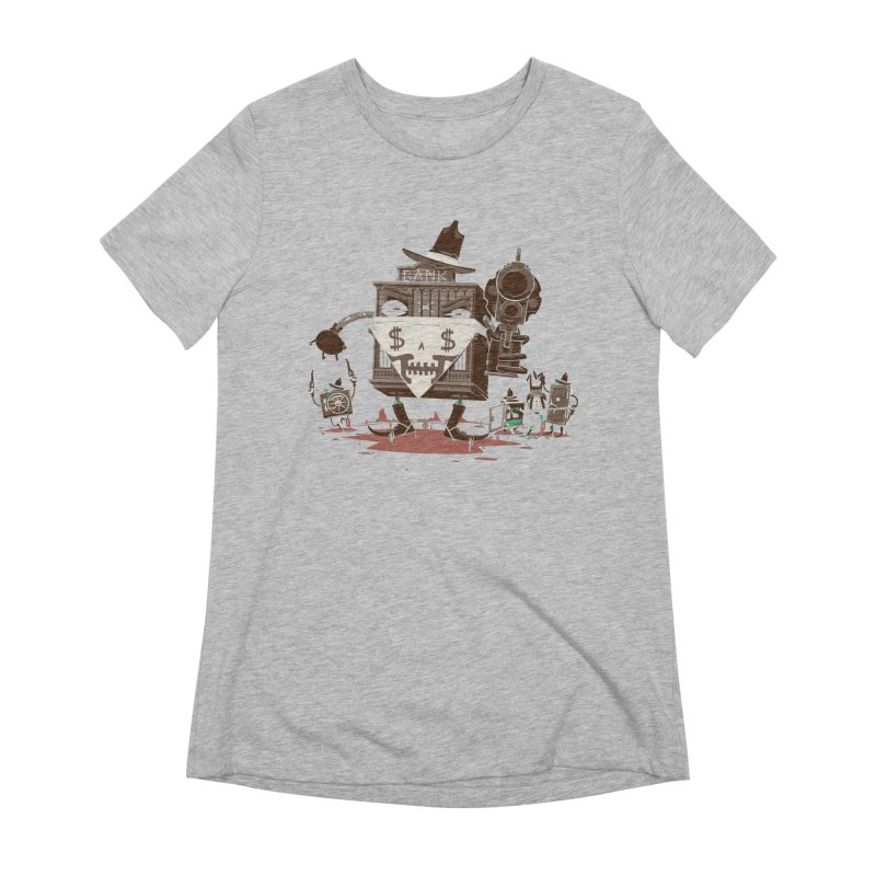 Bank Robber Women's Extra Soft T-Shirt by Made With Awesome
