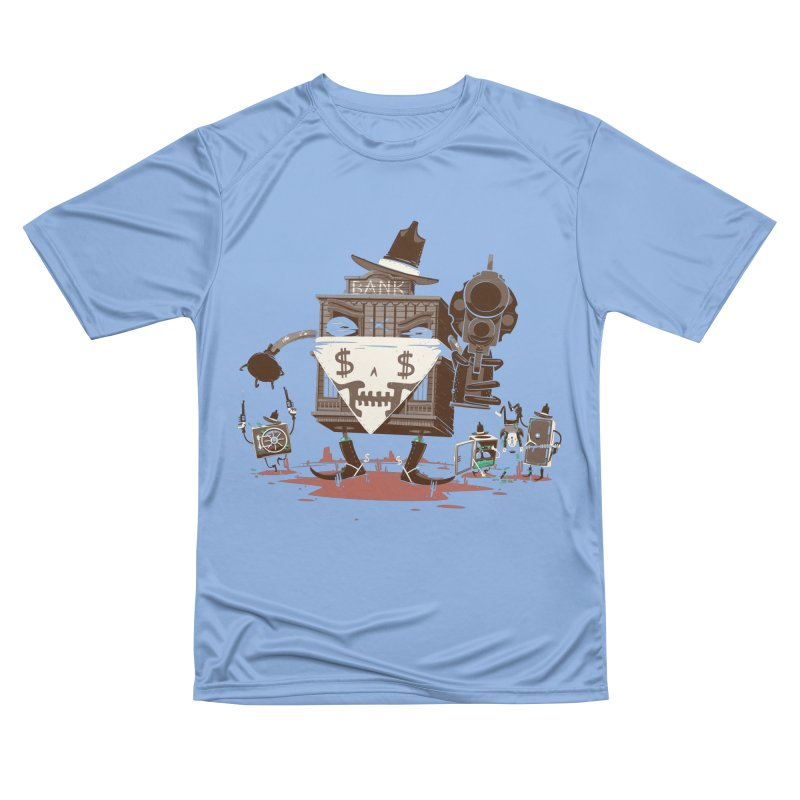 Bank Robber Men's Performance T-Shirt by Made With Awesome