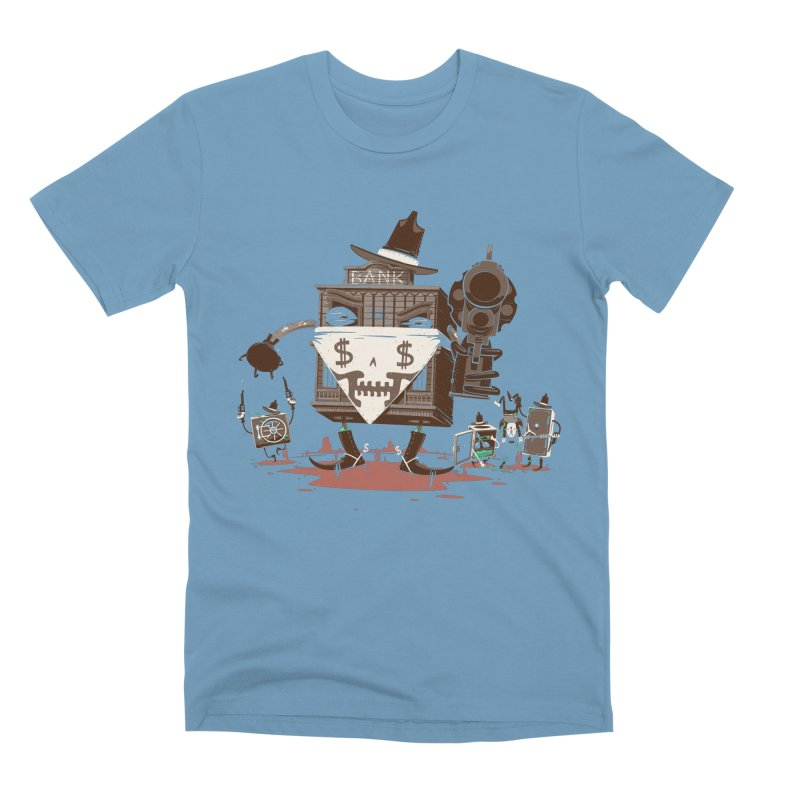 Bank Robber Men's Premium T-Shirt by Made With Awesome