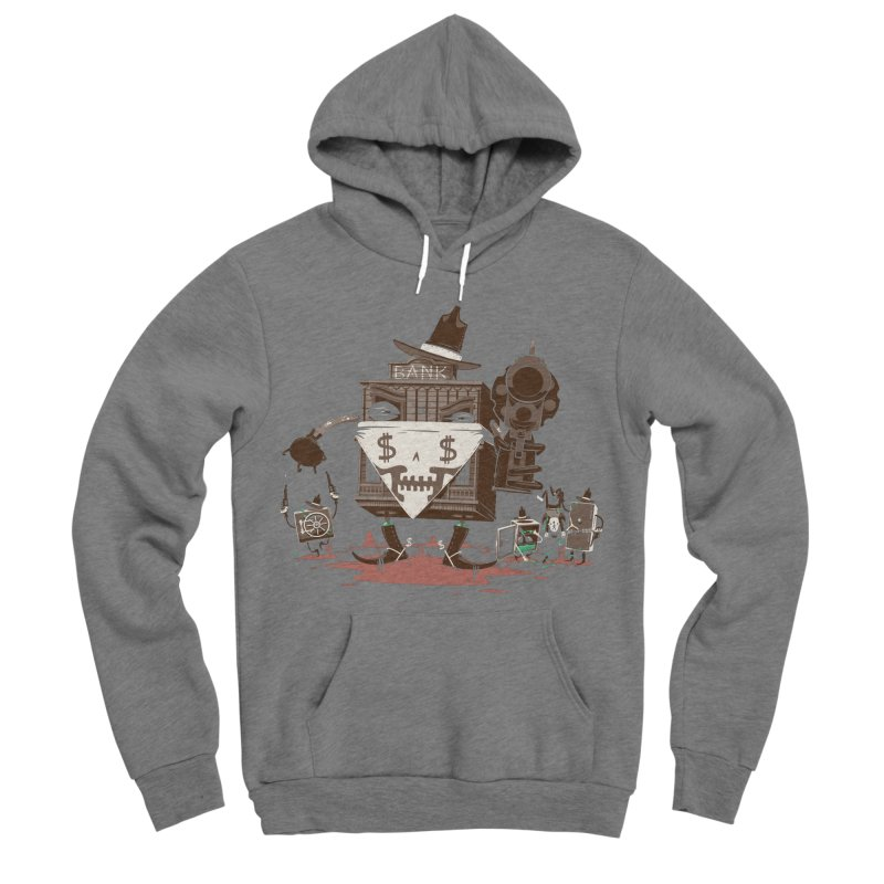 Bank Robber Men's Sponge Fleece Pullover Hoody by Made With Awesome