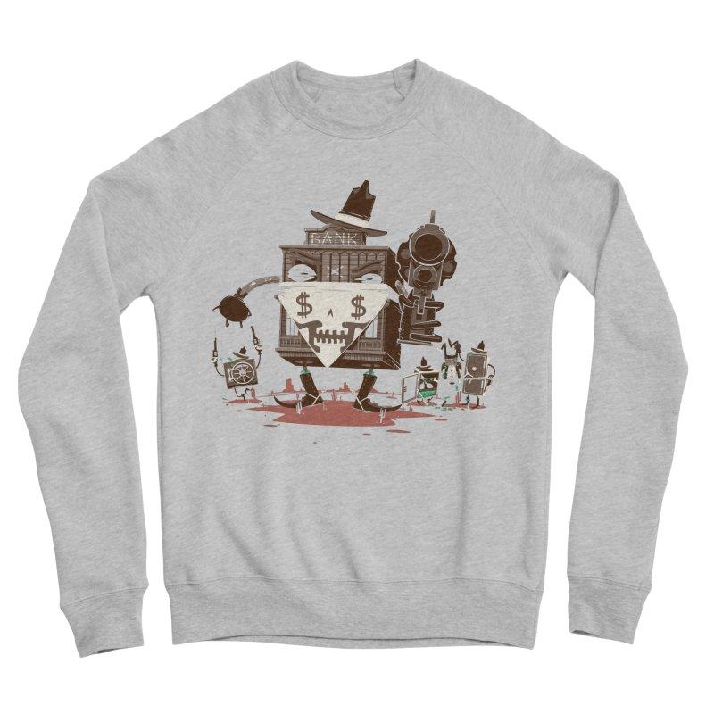 Bank Robber Women's Sponge Fleece Sweatshirt by Made With Awesome
