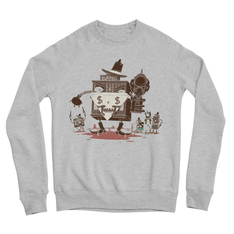 Bank Robber Men's Sponge Fleece Sweatshirt by Made With Awesome