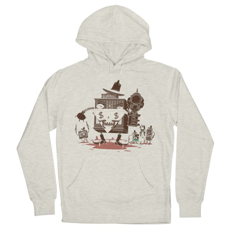 Bank Robber Men's French Terry Pullover Hoody by Made With Awesome
