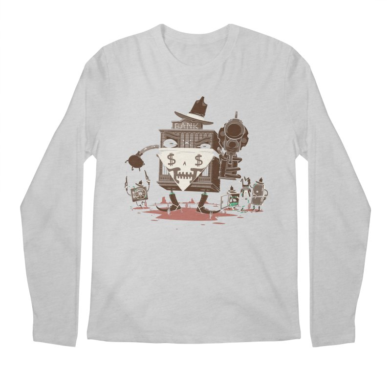 Bank Robber Men's Regular Longsleeve T-Shirt by Made With Awesome