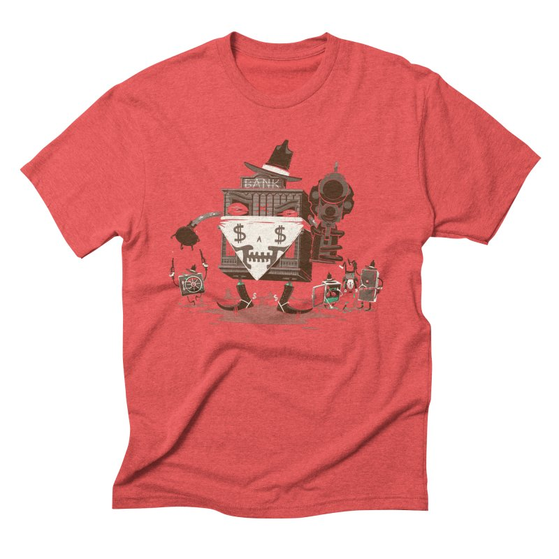 Bank Robber Men's Triblend T-Shirt by Made With Awesome