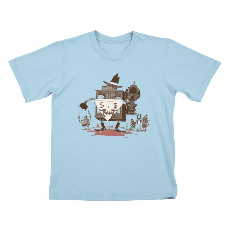 Bank Robber Kids T-Shirt by Made With Awesome