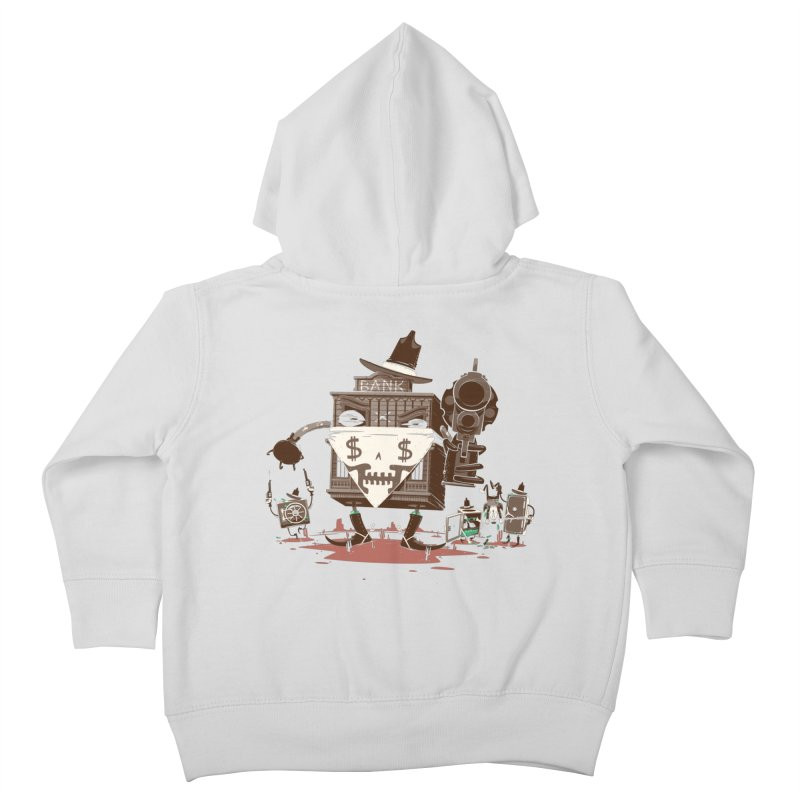 Bank Robber Kids Toddler Zip-Up Hoody by Made With Awesome