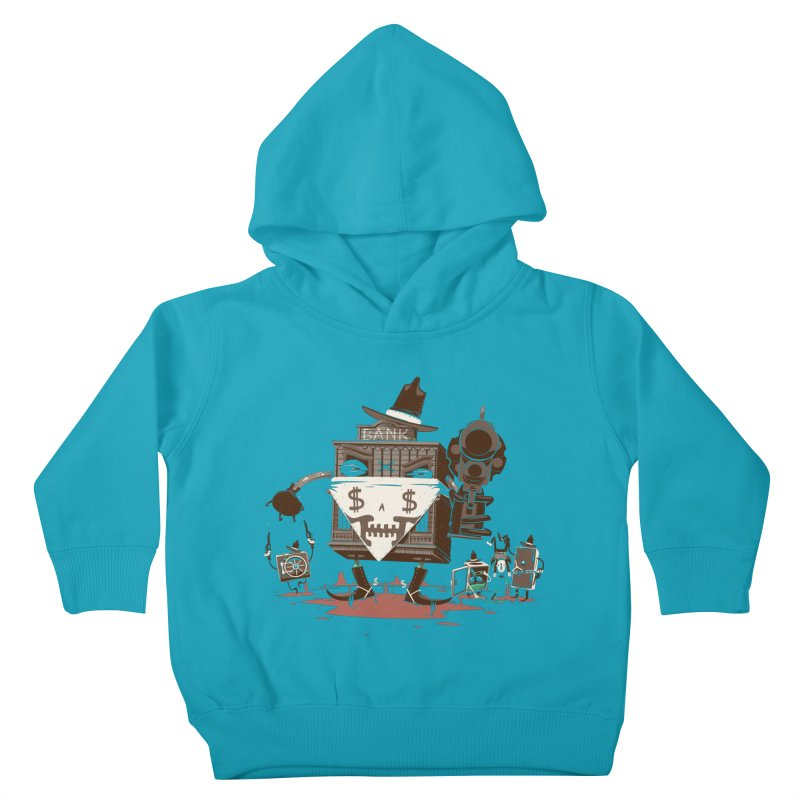 Bank Robber Kids Toddler Pullover Hoody by Made With Awesome