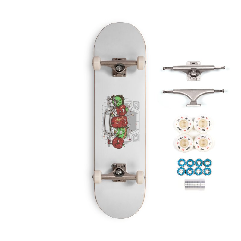 Alien Apple Accessories Complete - Premium Skateboard by Made With Awesome