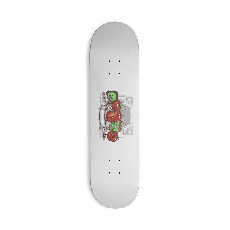 Alien Apple Accessories Deck Only Skateboard by Made With Awesome