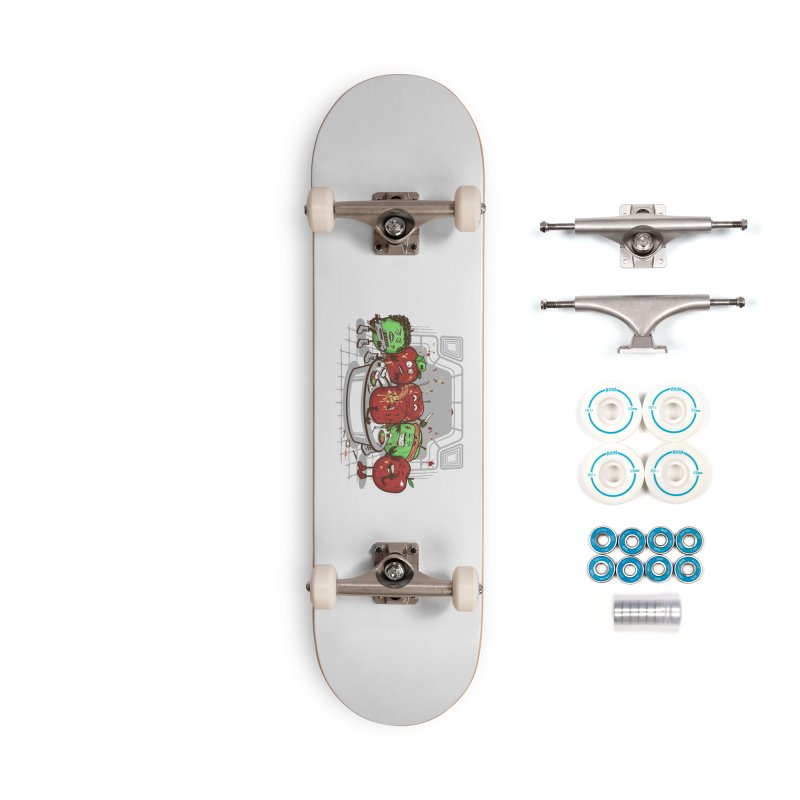 Alien Apple Accessories Complete - Basic Skateboard by Made With Awesome