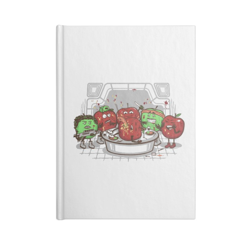Alien Apple Accessories Lined Journal Notebook by Made With Awesome