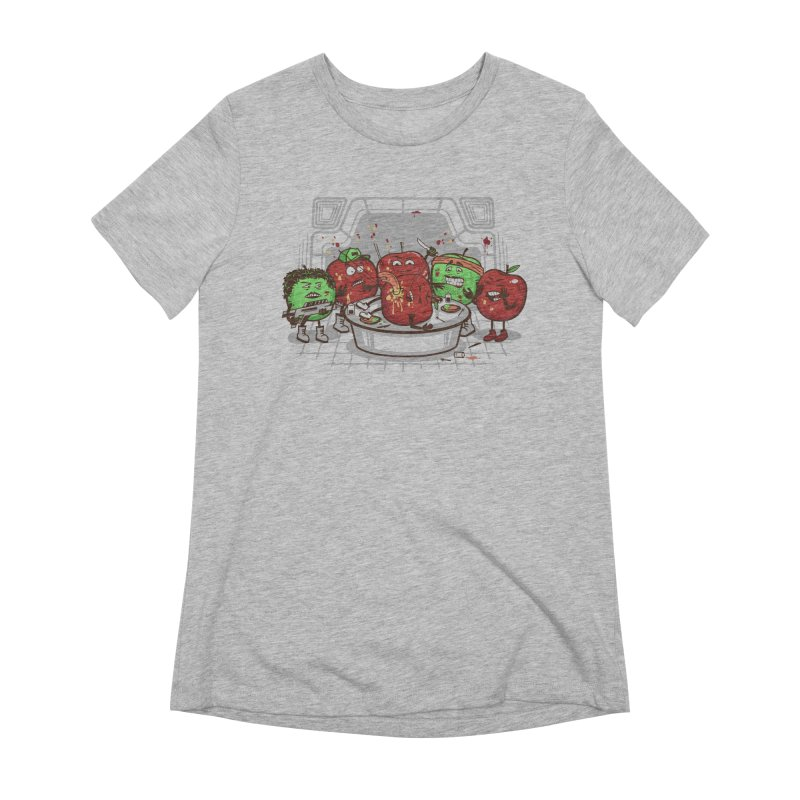 Alien Apple Women's Extra Soft T-Shirt by Made With Awesome