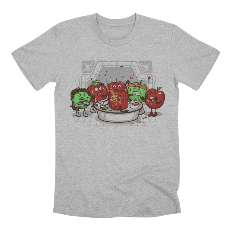 Alien Apple Men's Premium T-Shirt by Made With Awesome