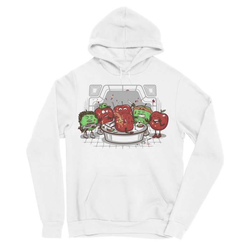 Alien Apple Men's Sponge Fleece Pullover Hoody by Made With Awesome