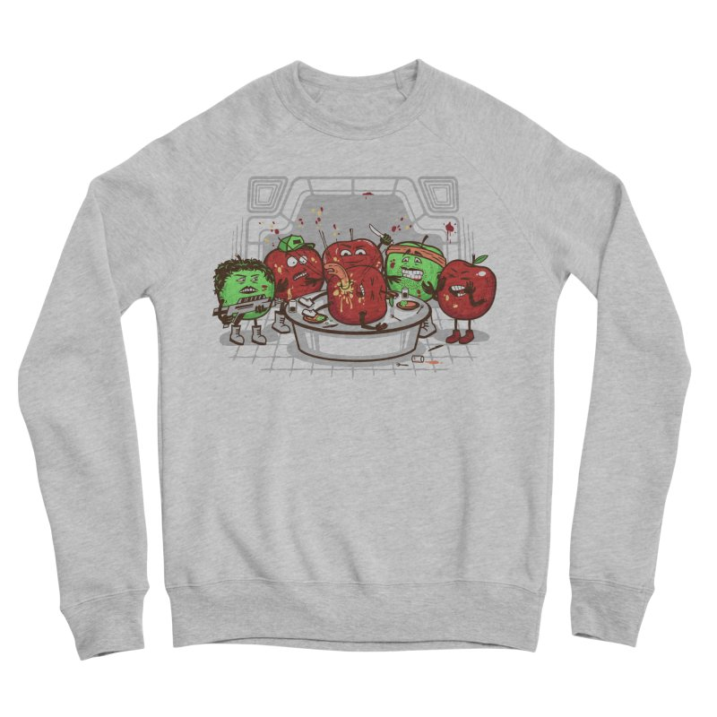 Alien Apple Women's Sponge Fleece Sweatshirt by Made With Awesome