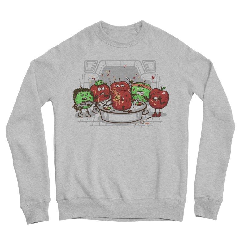 Alien Apple Men's Sponge Fleece Sweatshirt by Made With Awesome