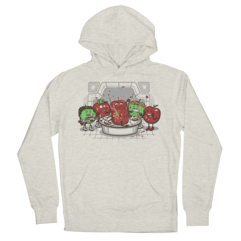 Alien Apple Men's French Terry Pullover Hoody by Made With Awesome