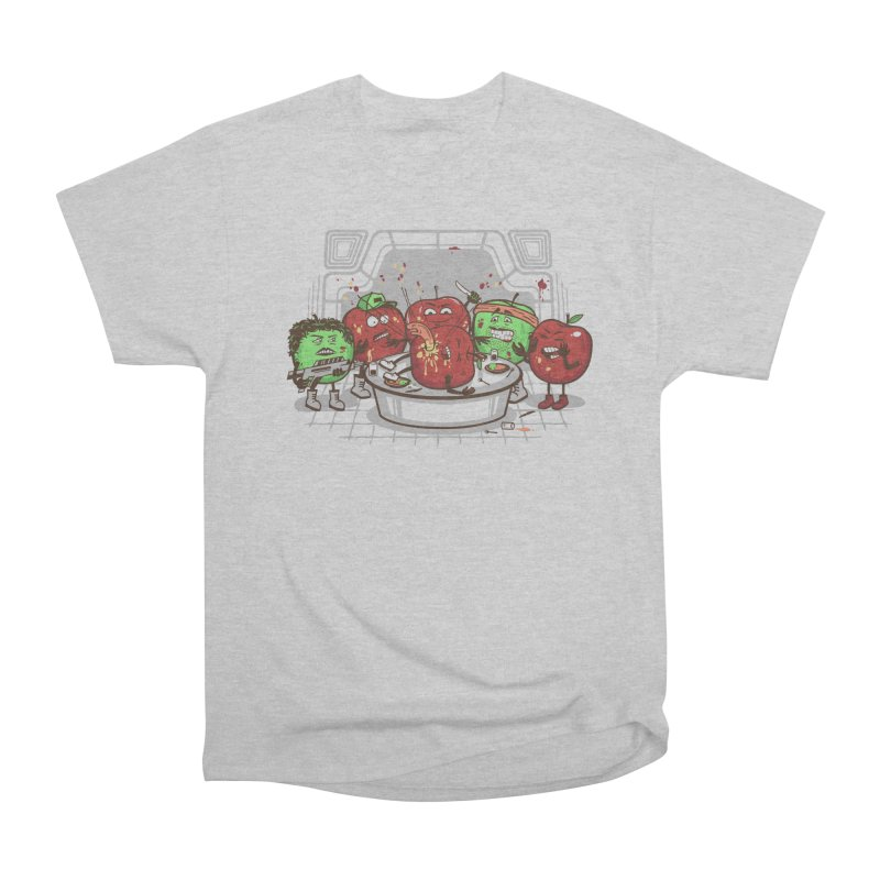 Alien Apple Women's Heavyweight Unisex T-Shirt by Made With Awesome
