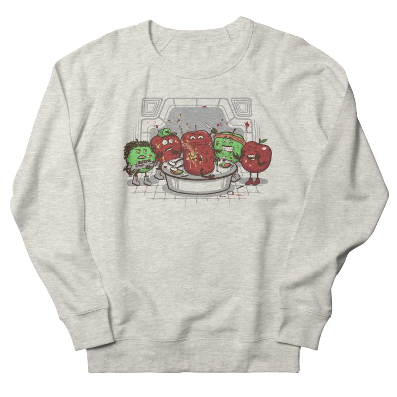 Alien Apple Men's French Terry Sweatshirt by Made With Awesome