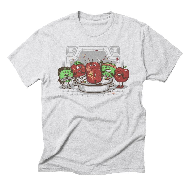 Alien Apple Men's Triblend T-Shirt by Made With Awesome