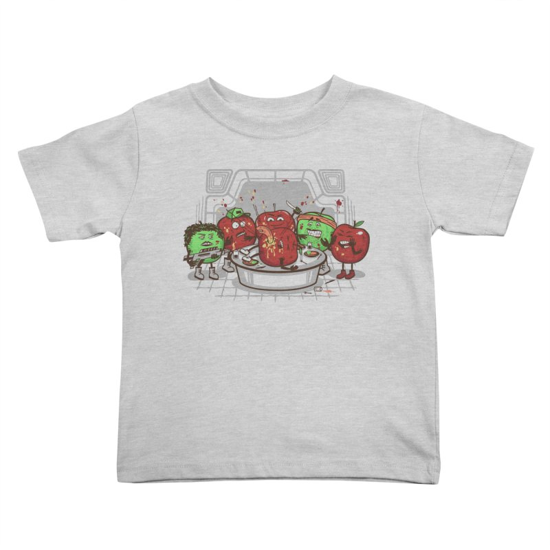 Alien Apple Kids Toddler T-Shirt by Made With Awesome