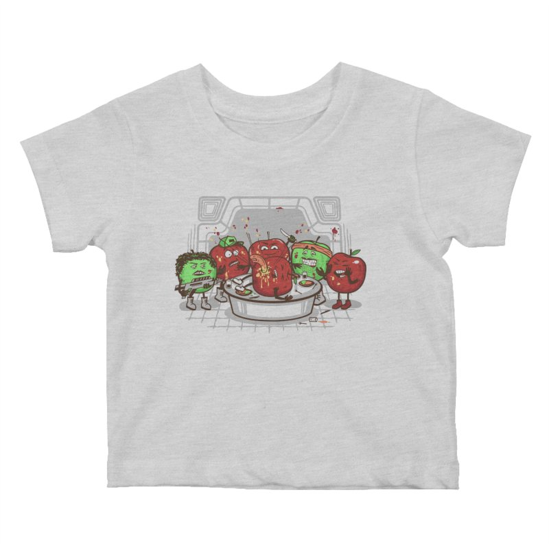 Alien Apple Kids Baby T-Shirt by Made With Awesome