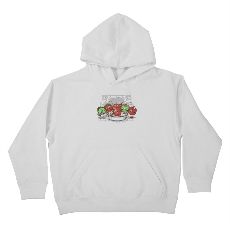 Alien Apple Kids Pullover Hoody by Made With Awesome