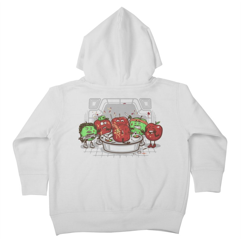 Alien Apple Kids Toddler Zip-Up Hoody by Made With Awesome