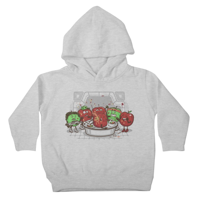 Alien Apple Kids Toddler Pullover Hoody by Made With Awesome
