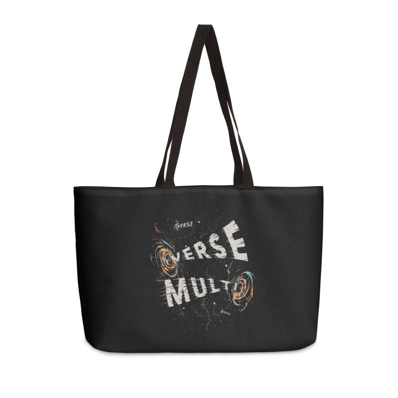 Multiverse Accessories Weekender Bag Bag by Made With Awesome