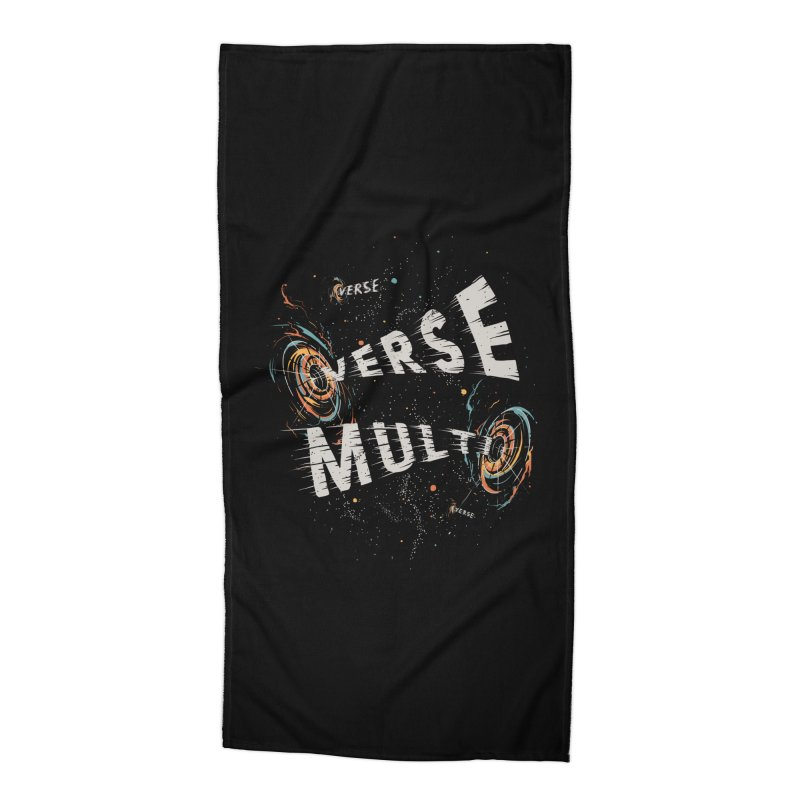 Multiverse Accessories Beach Towel by Made With Awesome