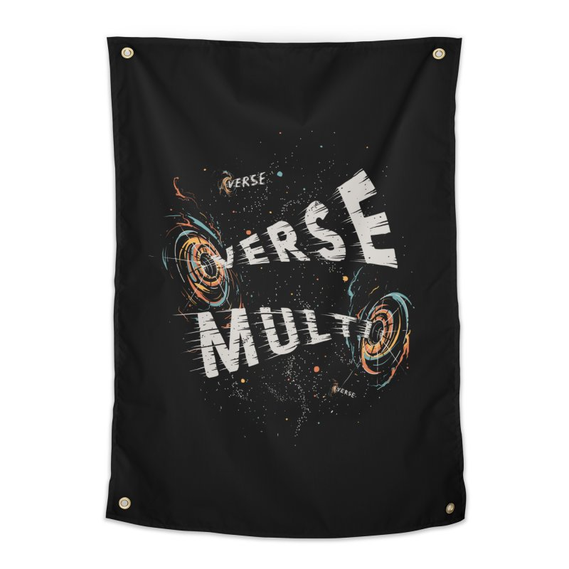 Multiverse Home Tapestry by Made With Awesome