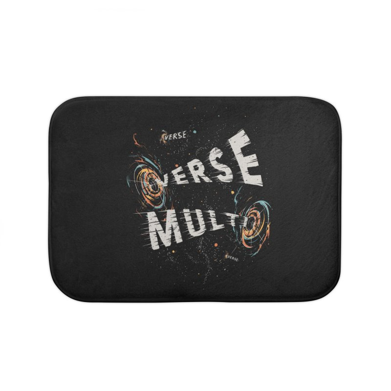 Multiverse Home Bath Mat by Made With Awesome
