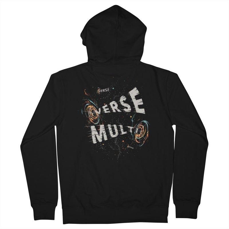 Multiverse Men's French Terry Zip-Up Hoody by Made With Awesome