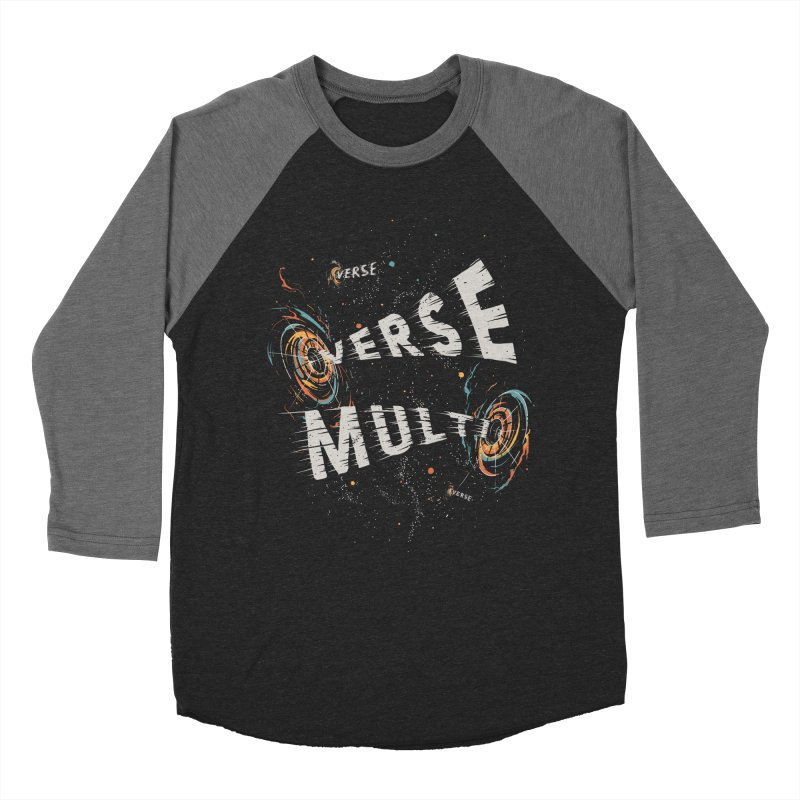 Multiverse Men's Baseball Triblend Longsleeve T-Shirt by Made With Awesome