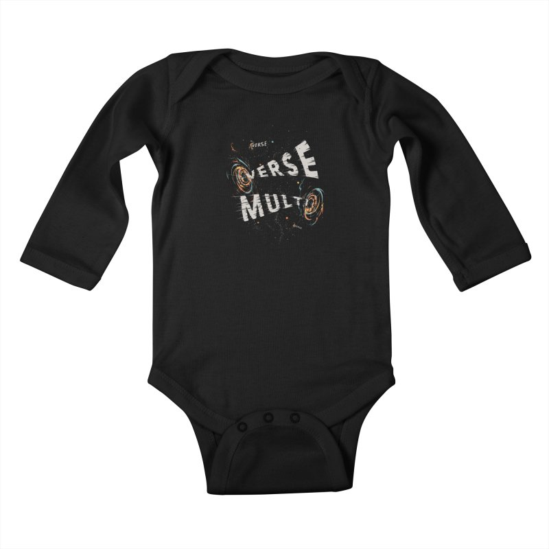 Multiverse Kids Baby Longsleeve Bodysuit by Made With Awesome