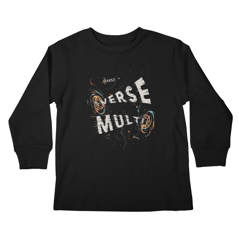 Multiverse Kids Longsleeve T-Shirt by Made With Awesome
