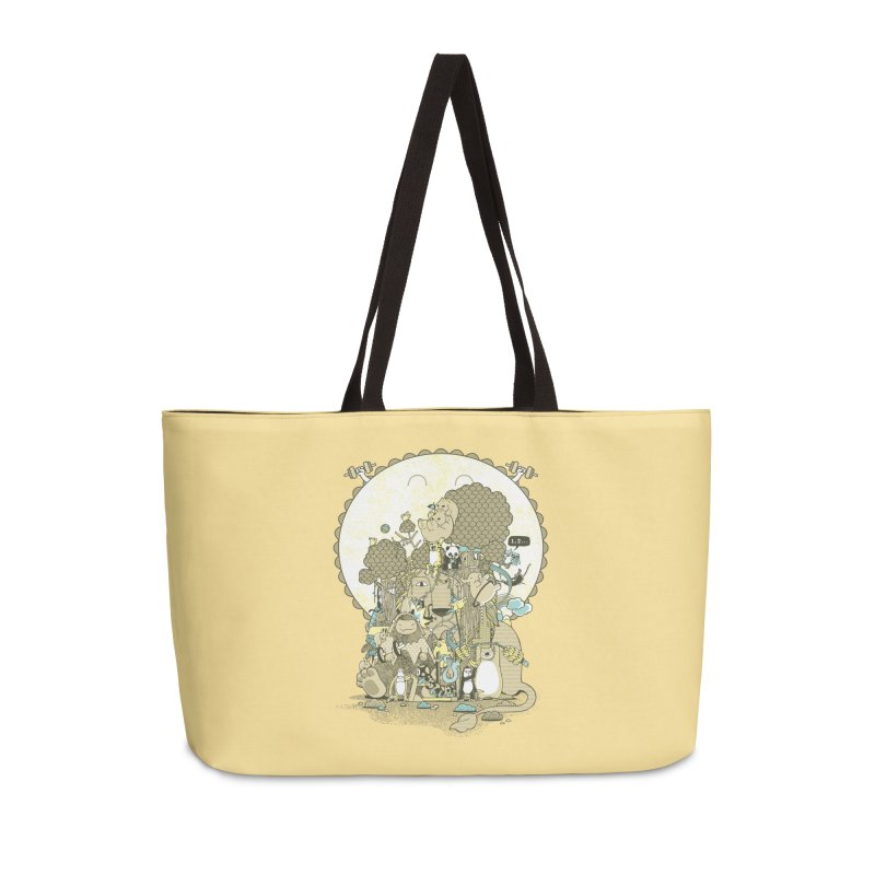 King of the Jungle Gym Accessories Weekender Bag Bag by Made With Awesome